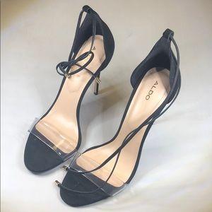 P251- Aldo Black Heels 7.5M